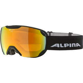 Alpina Pheos S QHM Gafas, black matt/red
